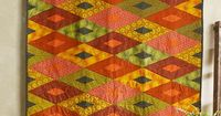 The Shaman Diamonds Quilt from Parson Gray's Shaman collection