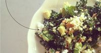 Check out this super easy and tasty recipe for the best kale salad you've ever had.