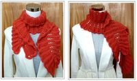 Stitch Story: A Dozen Ways to Wear the Ruffles Scarf