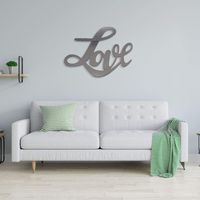 """Cursive """"Love"""" Metal Wall Decor $24.99 �œ�Handcrafted in the USA! �œ�"""