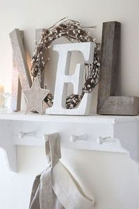 looking forward to doing this on my little mantle/fireplace in bedroom this coming Christmas