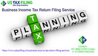 We are Providing Business Income Tax Return Filing Service for Our Valuable Clients. Us Tax Filing Make Tax planning for long term financial goals. We Provide Complete assistance on Tax Compliance and Scrutiny from the Tax Department. We also Create Year ...