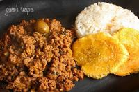 Picadillo is my family's favorite dish! It's really quick and easy to make, I make it a few times a month and make enough so we have leftovers which are great i