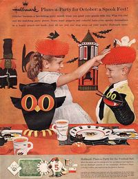 Vintage Halloween Advertising - Hallmark - 1961
