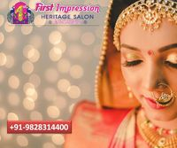 Adorable Looking Bridal Makeup in Udaipur First Impression