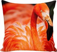 Pink Flamingo Couch Pillow $25.00