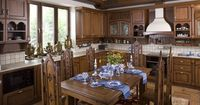Old World Style Kitchens | Pictures of Kitchens - Traditional - Medium Wood Cabinets, Brown (Page ...