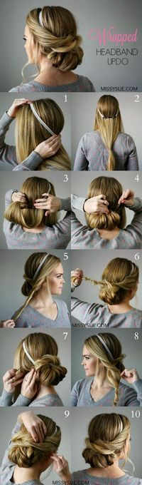 Here are 14 beautiful hair tutorials for weddings, prom, and fancy affairs that you can do yourself!
