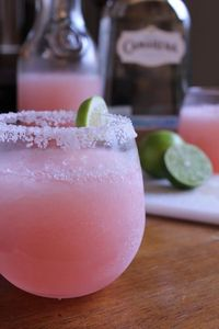 Perfect in pink... tequila, pink grapefruit, cocktail
