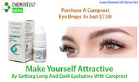 Careprost eye drops is one of the most widely used and trusted medicine for the management of open angle glaucoma and hypotrichosis. Generic of Careprost is Bimatoprost eye drops. Buy Careprost eye drops online in USA from our pharmacy store - Chemist247O...