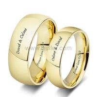 Custom Titanium Wedding Bands for Him and Her https://www.gullei.com/custom-titanium-wedding-bands-for-him-and-her.html