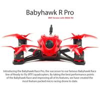 EMAX Babyhawk R Pro 120mm Brushless 600TVL FPV Racing Drone w/ Magnum F4 Flight Controller Tiny Receiver BNF