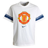 Nike Manchester United Graphic T-Shirt - White - Kids. Manchester United Graphic T-Shirt - White - Kids. http://www.comparestoreprices.co.uk/t-shirts/nike-manchester-united-graphic-t-shirt--white--kids-.asp