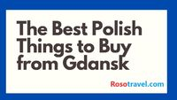 Want to know the Best Polish Things to Buy From Gdansk. Visit: www.rosotravel.com