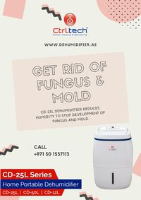 CD-25L air dehumidifier, small dehumidifier. #Dehumidifier #AirDehumidifier #Dubai #UAE