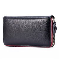 Real Genuine Leather Women Wallets Brand Design High Quality Cell phone Card Holder R434.70