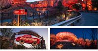 Cars Land in California Adventures. We can't wait to take the boys here next year! :)