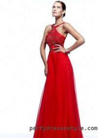 Sherri Hill 21338 Long Red Sparkly Prom Dresses For Sale