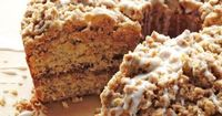 """Everyone needs a delicious coffee cake recipe in their repertoire, and this cinnamon streusel coffee cake recipe is the perfect option. Meaning """"something strew"""
