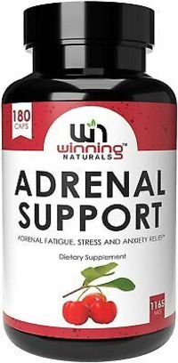 Ashwagandha Supplement Adrenal Support Cortisol Manager EXP 08/2023