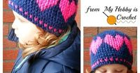 My Hobby Is Crochet: A Hat With Love - Free Crochet Pattern