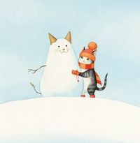 by Bojana Dimitrovski CECIL AND THE JOYS OF WINTER by Bojana Dimitrovski This is the first picture book I both created and illustrated :) Co-written with a friend, and published by MK Publishing House in Slovenia, the story features our cat Cicko in t...