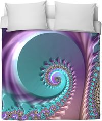ROb My Favorite Colors Duvet Cover $120.00
