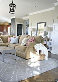 Thrifty Decor Chick: Family room reveal!