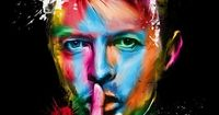Digital art selected for the Daily Inspiration #1252. David Bowie.