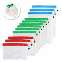 Price: $26.74 | Product: 12pcs Reusable Mesh Produce Bags Washable Eco Friendly Bags for Grocery Shopping Storage | Visit our online store https://ladiesgents.ca