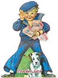 Cracker Jacks- When the prizes was something to be excited about...