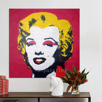 Marilyn Monroe Pop Art Andy Warhol oil paintings on canvas Hand painted Wall Pictures home decor cuadros abstractos $229.00