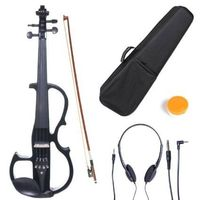 Cecilio 4/4 CEVN-2BK Solid Wood Electric/Silent Violin