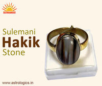 Sulemani Hakik Stone  Sulemani is viewed as Hakik's (psychic) stone. By wearing it, the individual is loaded up with positive vitality and it always considered to be true. It is likewise utilized in Fengshui Vaastu and it is regularly obse...