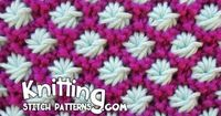 ���'�€а �ƒзо�€ Спи�†�‹ This video knitting tutorial will help you learn how to knit the Aster stitch. Fast and Easy + For full written instructions, please visit link: http://www.k...