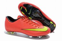 Nike Mercurial Victory X FG 2015 World Cup Soccer Cleats Red Yellow
