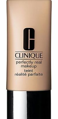 Clinique Perfectly Real Makeup, 30ml Perfectly Real Makeup is a weightless foundation that provides the perfect match and a natural finish. Skin looks real but better. More even, perfected, healthy. It neutralizes redness, ruddiness and http://www.compare...