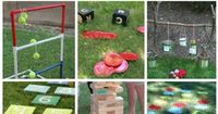 DIY 15+ Awesome Outdoor Games Projects For Tons Of Fun...