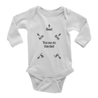 How-To-Onesie for Dads $19.95