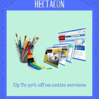 Super Offer is now On! Hectacon Provides #Logo Designing #WordPress #Business Cards #Ecommerce #SEOServices, #Social Media Marketing, etc services on time. Visit For more: https://www.hectacon.com/ To Start Project: https://www.hectacon.com/start-proj...