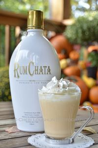 I knew RumChata would be perfect for a white chocolate hot chocolate with pumpkin spice. Pumpkin Pie White Hot Chocolate proves it. Perfect for tailgating!