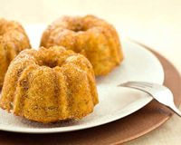 These mini banana bunt cakes have no added sugar! http://www.womenshealthmag.com/nutrition/mini-banana-bundt-cakes?cm mmc=Pinterest- -womenshealth- -content-food- -dessertwithnoaddedsugar