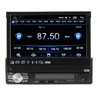 7 Inch Car MP5 Player Bluetooth Touch A2DP IN Dash Radio Stereo Audio MP5/MP3/USB/AUX/FM