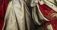 James, 7th Earl of Lauderdale, Sir Joshua Reynolds, 1760. Detail. Whatever did she say to him?