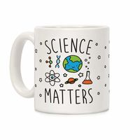 Science Matters Ceramic Coffee Mug $14.99 �œ� Handcrafted in USA! �œ� Support American Artisans