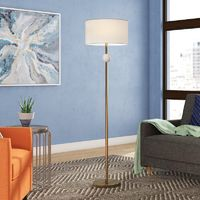 "Fennell 63"" LED Floor Lamp $74"