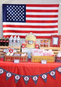 """This adorable """"HOME-ONE"""" + BASEBALL THEMED BIRTHDAY PARTY was submitted by Shana of Belva June. What a darling little party! I especially love all of the baseba"""