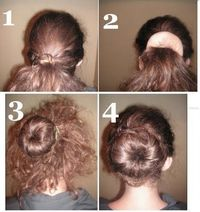 how to use one of those doughnut bun shaper thingys!