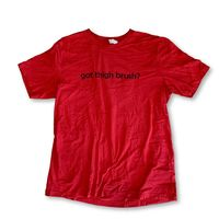"THIGHBRUSH® - ""GOT THIGHBRUSH?"" - Men's T-Shirt - Red and Black"