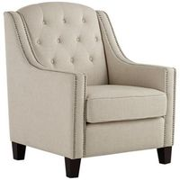 Tivoli Tufted Armchair - am concerned about the light color and wish it was a leather